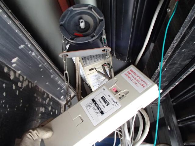新設の三和製リモコン装置(ラジオート)