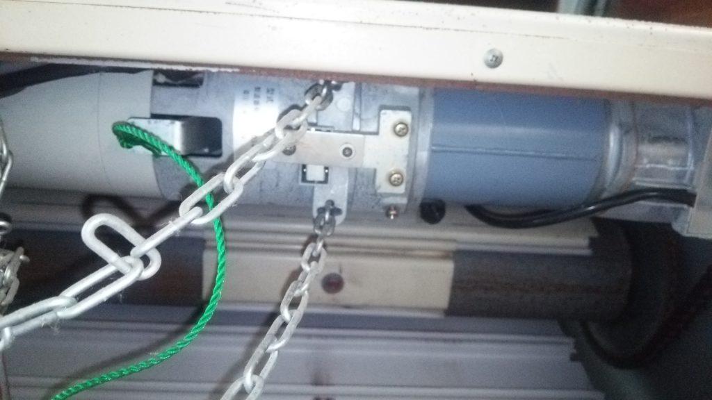 点検口から見た開閉器・ULC-07A