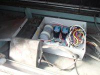 シャッター本体の制御盤